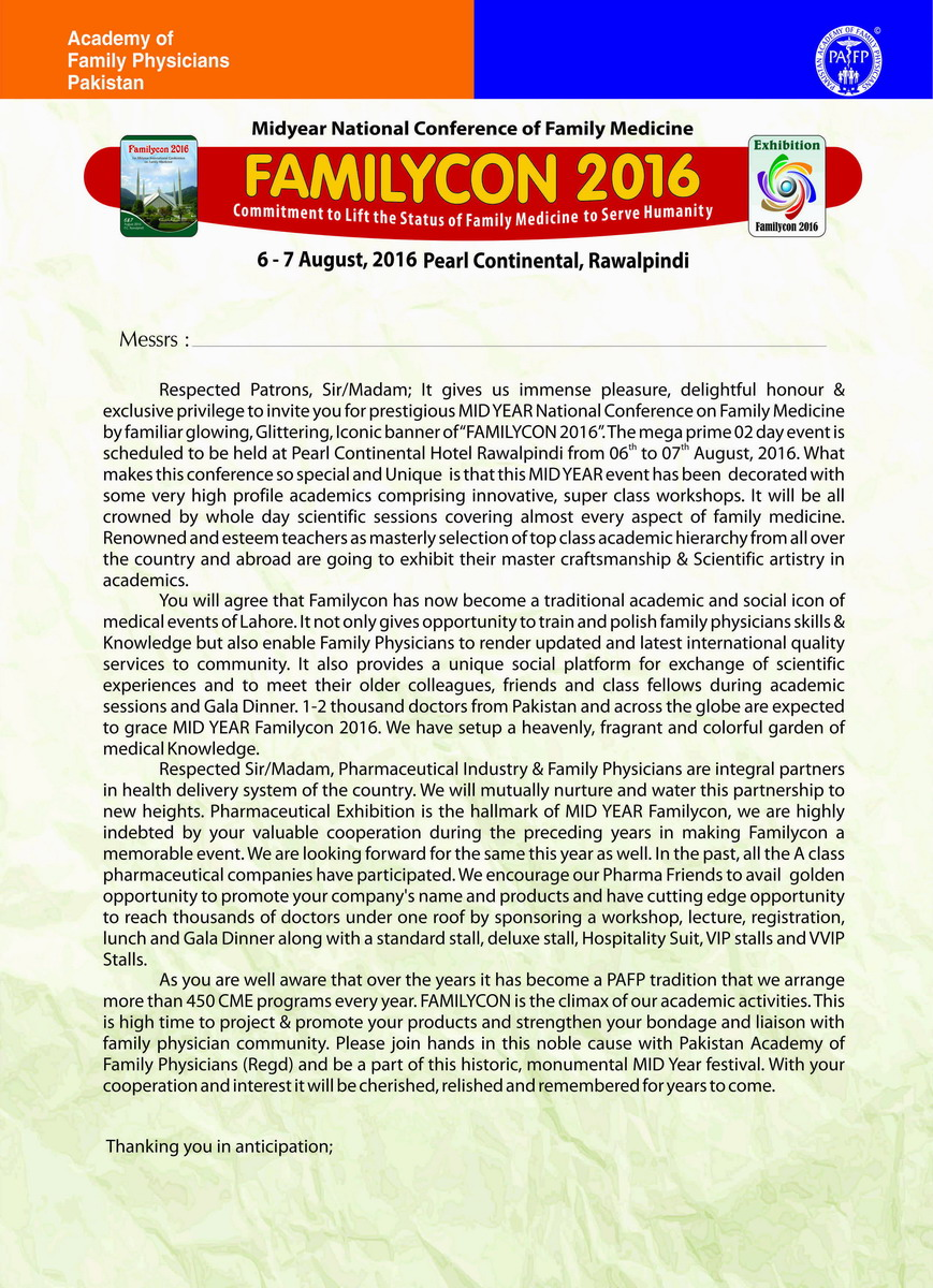 Pharma Familycon ISD